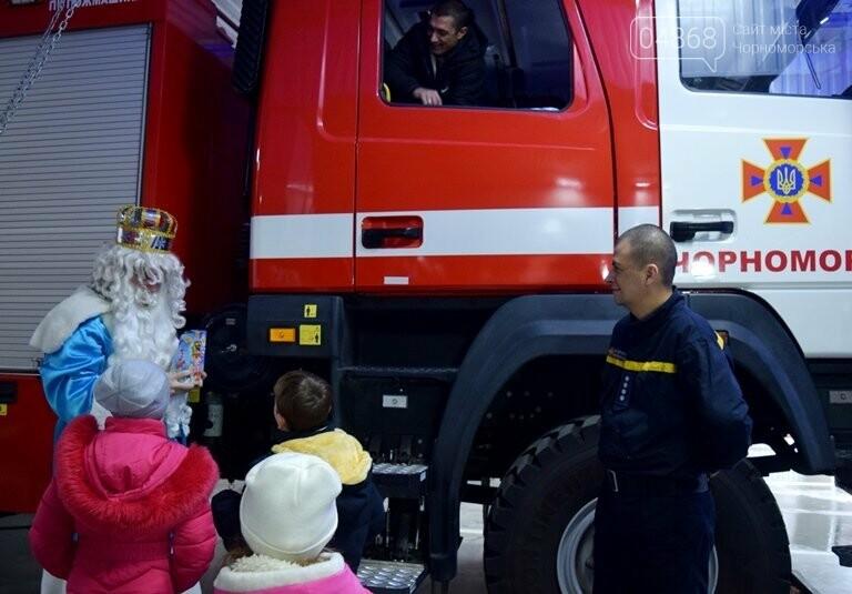 Спасатели Черноморска провели марафон добра «Спаси детские мечты!», фото-25