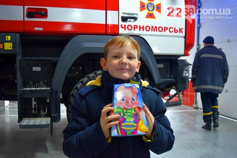 Спасатели Черноморска провели марафон добра «Спаси детские мечты!», фото-5