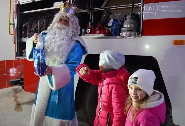 Спасатели Черноморска провели марафон добра «Спаси детские мечты!», фото-28