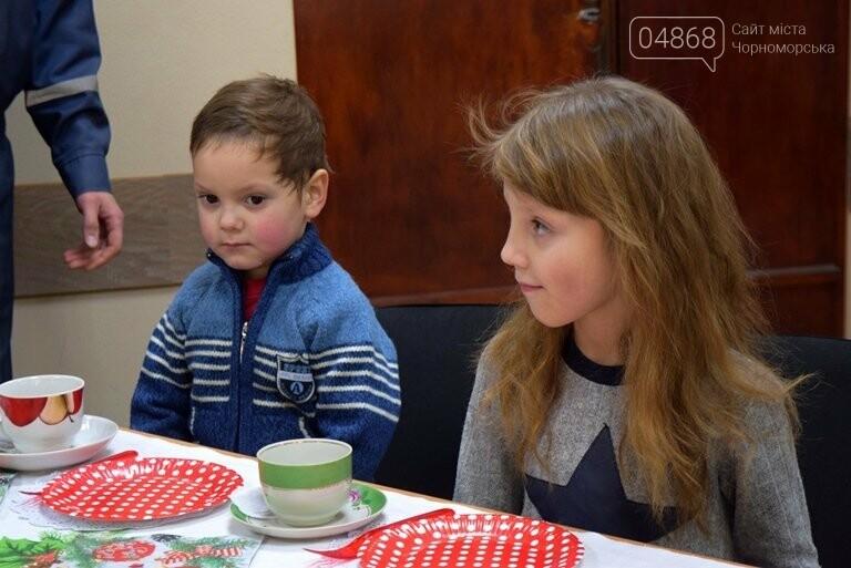Спасатели Черноморска провели марафон добра «Спаси детские мечты!», фото-7