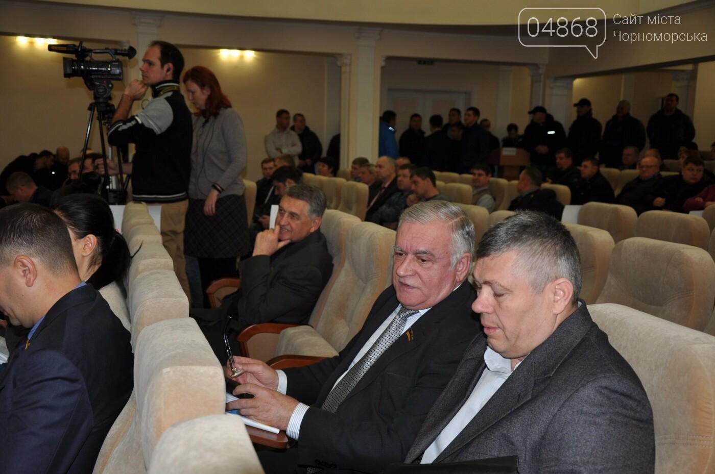 Черноморск остался без бюджета , фото-1