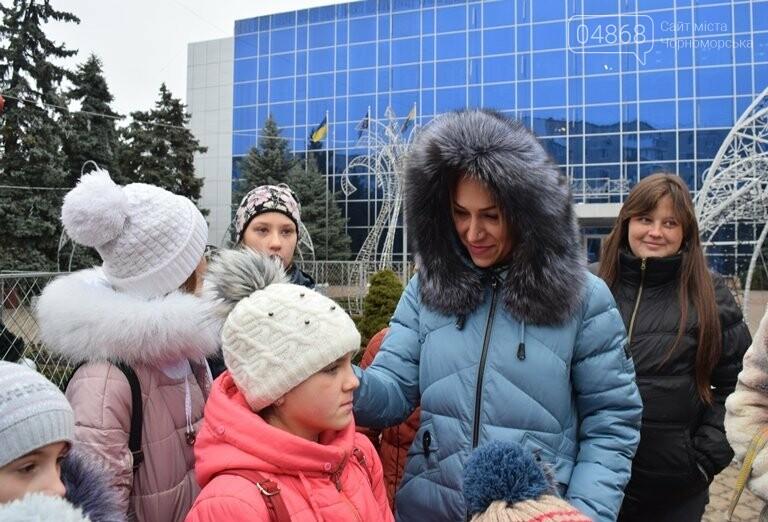 Новогоднее: облсовет пригласил маленьких жителей Черноморска в самый красивый театр Одессы, фото-18