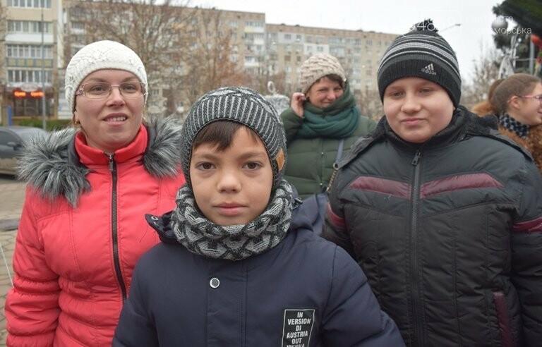 Новогоднее: облсовет пригласил маленьких жителей Черноморска в самый красивый театр Одессы, фото-19