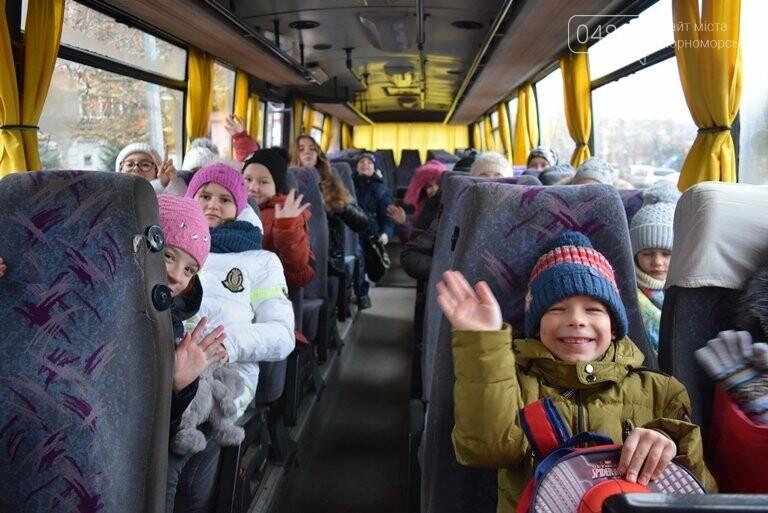 Новогоднее: облсовет пригласил маленьких жителей Черноморска в самый красивый театр Одессы, фото-9
