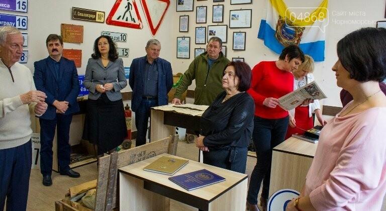 В Черноморске открылся новый локальный музей истории города, фото-8