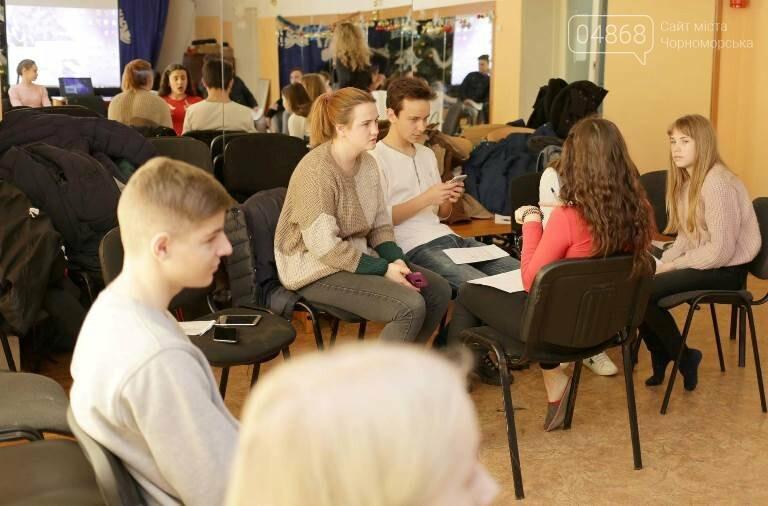 В Черноморске проходит зимняя сессия лагеря лидеров, фото-4