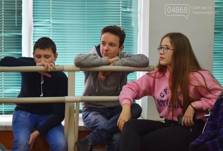 В Черноморске проходит зимняя сессия лагеря лидеров, фото-9
