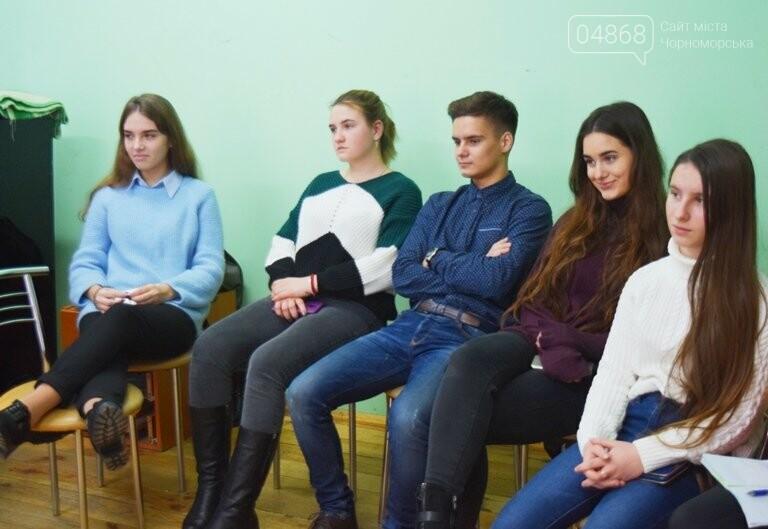 В Черноморске проходит зимняя сессия лагеря лидеров, фото-15