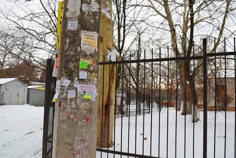 Кто и зачем заварил калитку на входе в одну из школ Черноморска? , фото-8