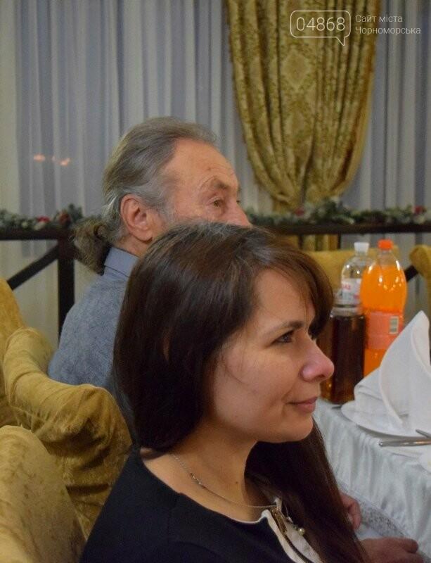 Черноморский поэт и судоремонтник Анатолий Коломойцев отметил свой юбилей презентацией нового поэтического сборника, фото-17