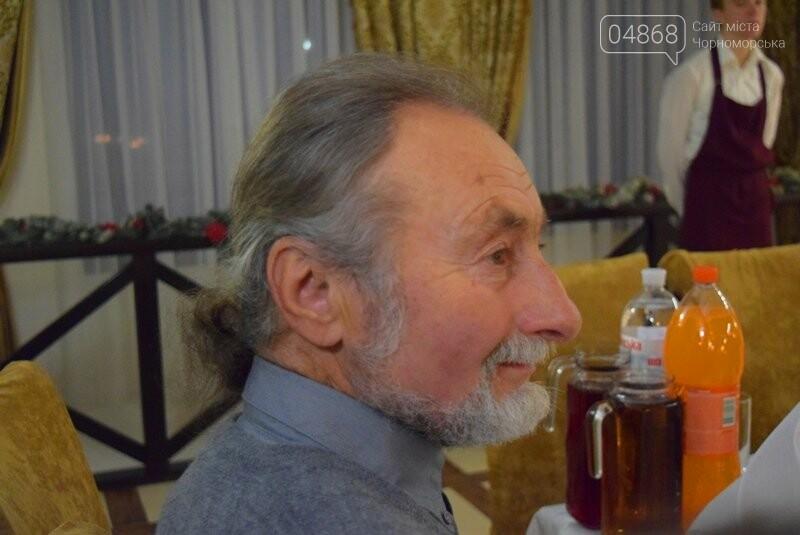 Черноморский поэт и судоремонтник Анатолий Коломойцев отметил свой юбилей презентацией нового поэтического сборника, фото-7
