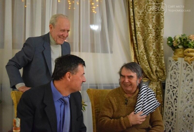 Черноморский поэт и судоремонтник Анатолий Коломойцев отметил свой юбилей презентацией нового поэтического сборника, фото-22