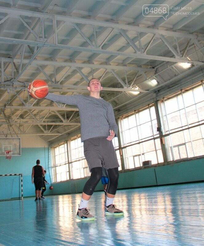 «Молодёжь нужно завлекать в спортивные залы, а не на улицу», – Юрий Крук символически открыл баскетбольный сезон 2019 года в Черноморске , фото-10