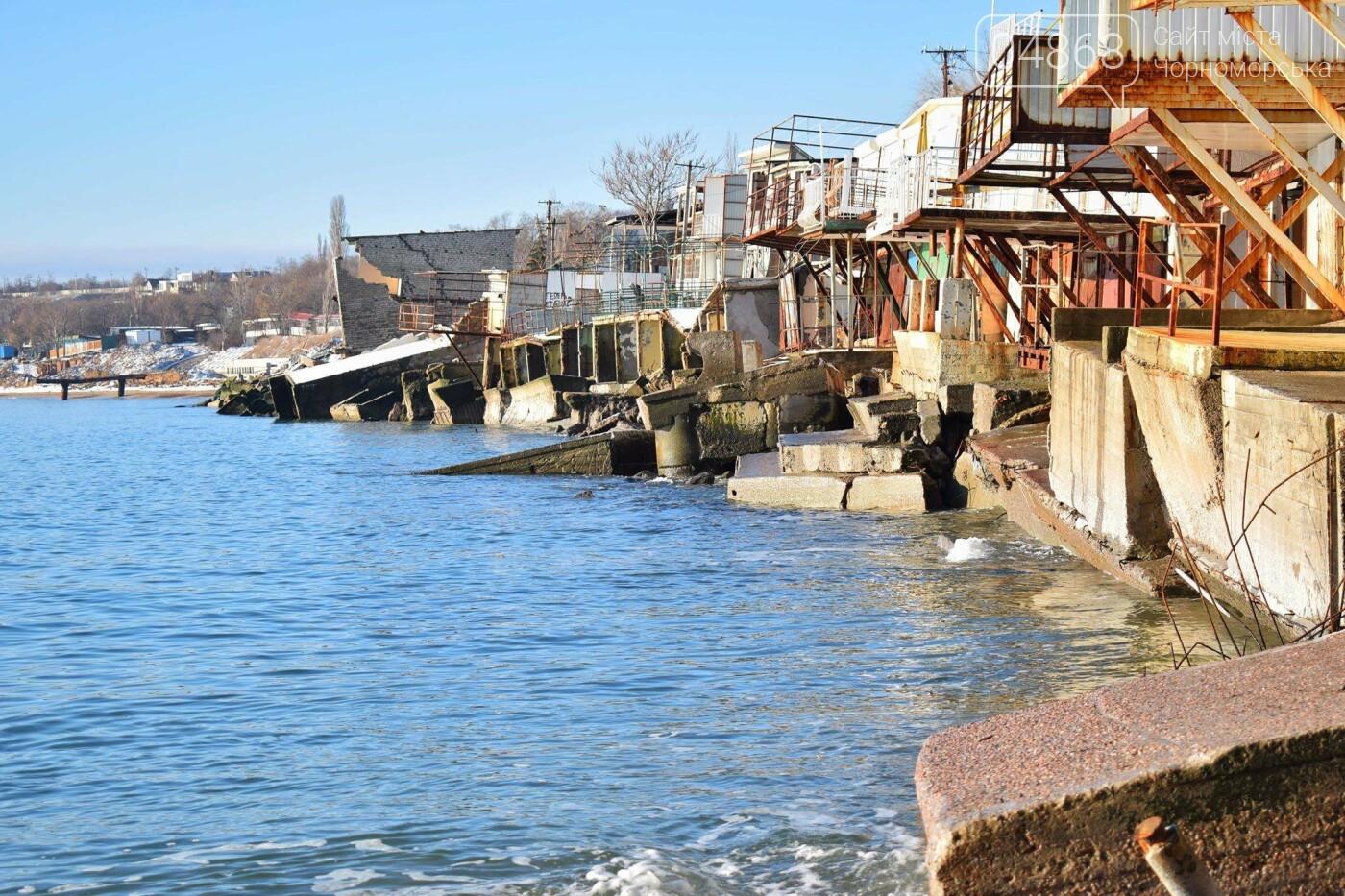 В Черноморске не допустили, чтобы целый жилой массив смыло морем , фото-2