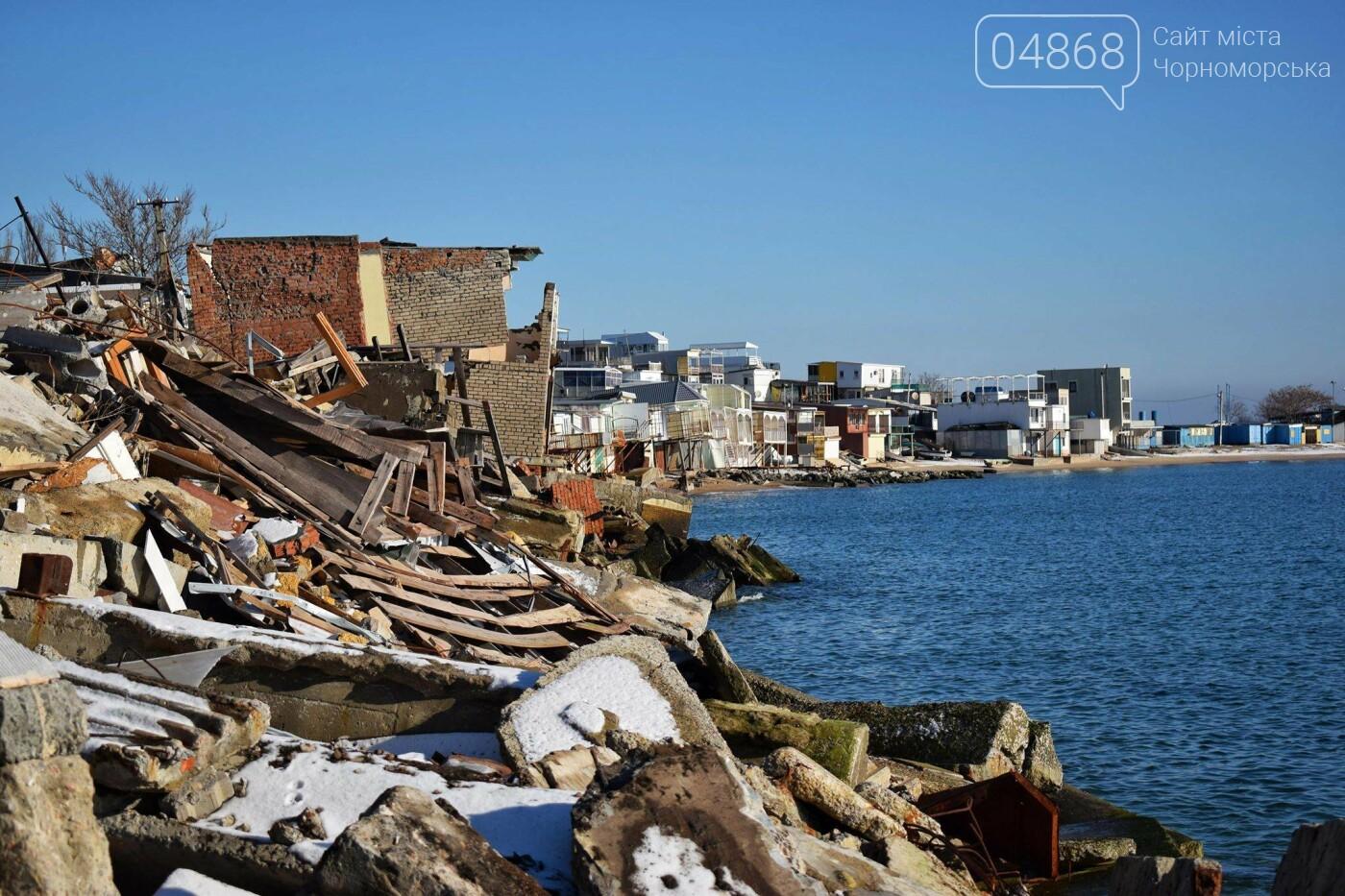В Черноморске не допустили, чтобы целый жилой массив смыло морем , фото-21