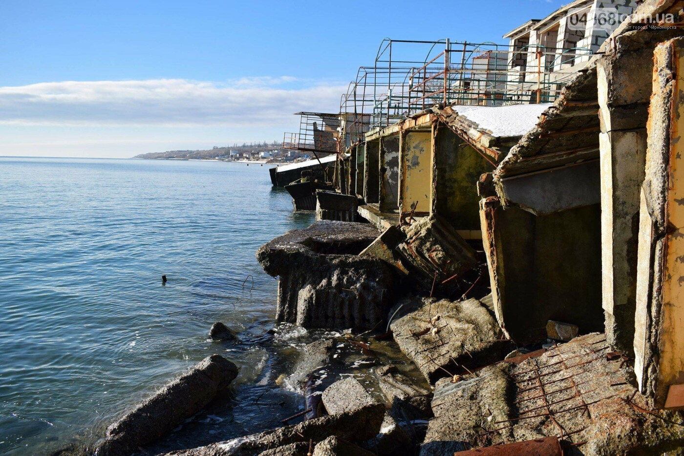 В Черноморске не допустили, чтобы целый жилой массив смыло морем , фото-5