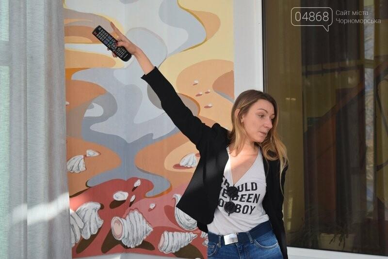 Из Лондона – в Черноморск: Анастасия Белоус рассказала о новых муралах и представила увлекательный арт-проект , фото-8