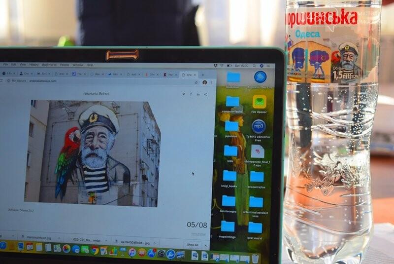 Из Лондона – в Черноморск: Анастасия Белоус рассказала о новых муралах и представила увлекательный арт-проект , фото-11