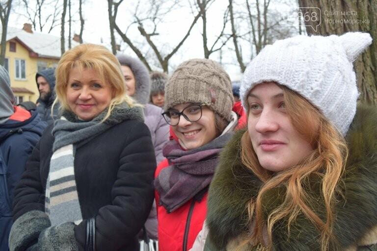 В Черноморске отметили 100-летие Соборности Украины, фото-19