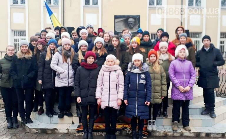 В Черноморске отметили 100-летие Соборности Украины, фото-28