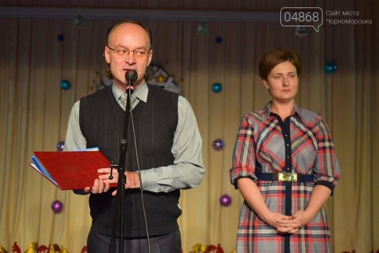 Куклы, картины и инсталяции: в Черноморске показали «Рождественские узоры», фото-11