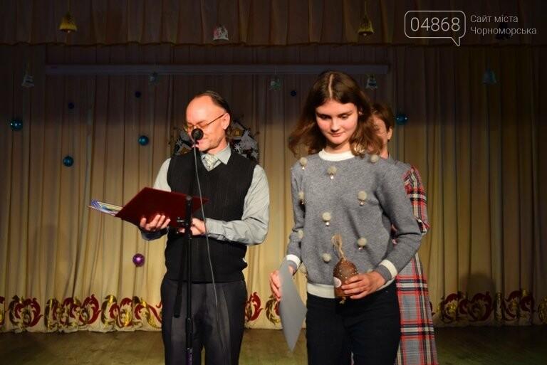 Куклы, картины и инсталяции: в Черноморске показали «Рождественские узоры», фото-12