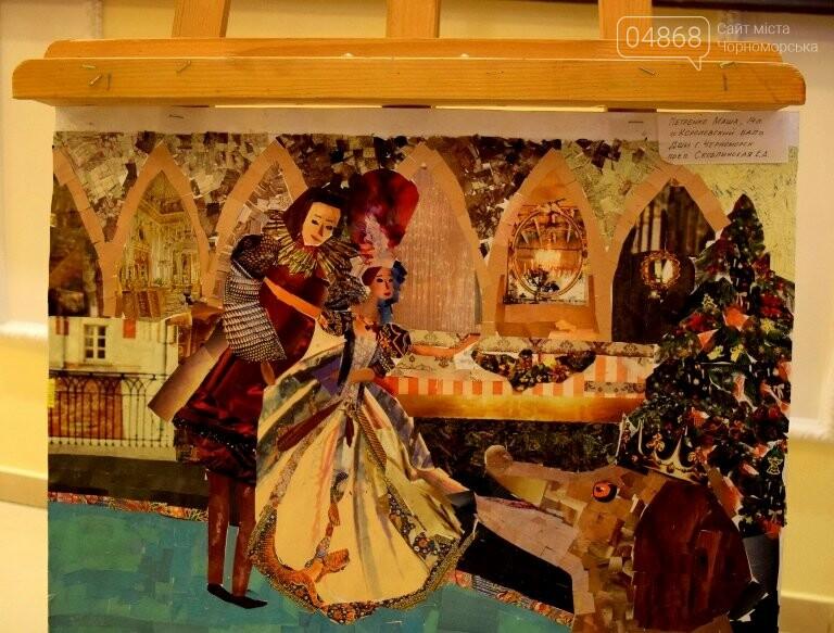 Куклы, картины и инсталяции: в Черноморске показали «Рождественские узоры», фото-8