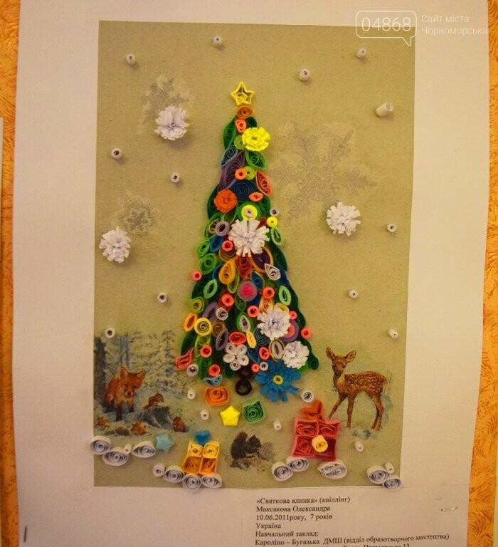 Куклы, картины и инсталяции: в Черноморске показали «Рождественские узоры», фото-33