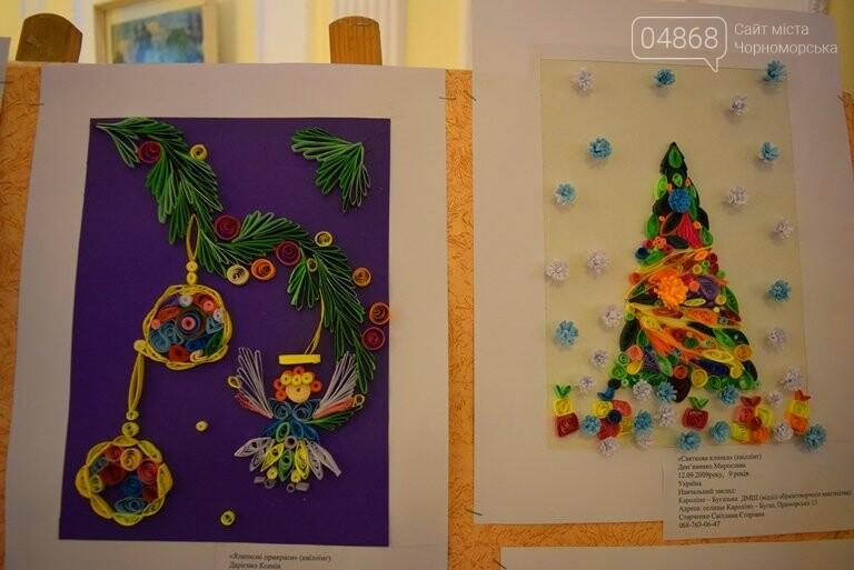 Куклы, картины и инсталяции: в Черноморске показали «Рождественские узоры», фото-23