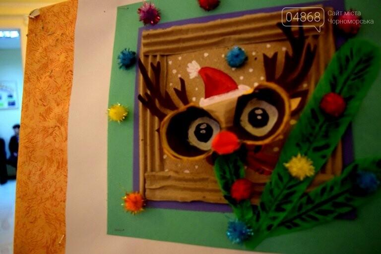 Куклы, картины и инсталяции: в Черноморске показали «Рождественские узоры», фото-24