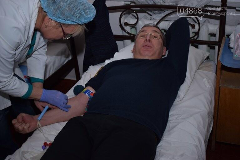 23 января в Черноморске прошёл рекордный День донора (видео), фото-9