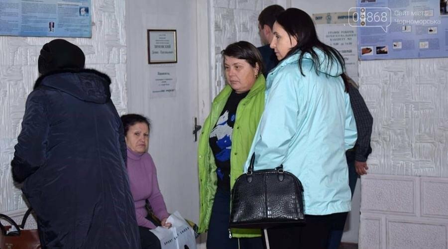 У очередей в коридорах поликлиник Черноморска есть свои причины, фото-3