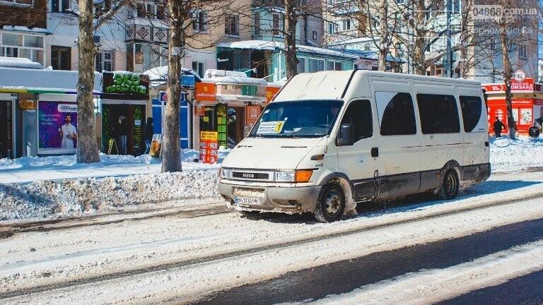 Снег и гололёд: о ситуации на дорогах Черноморска, фото-3