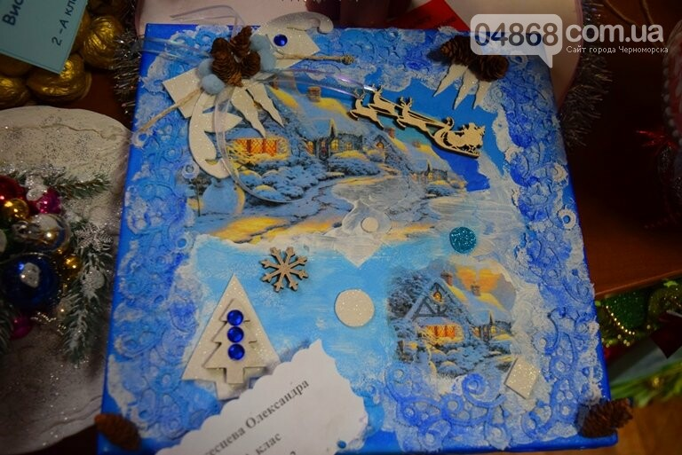 В Черноморске выбирали самые красивые сувениры и композиции, фото-29