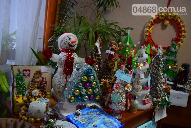В Черноморске выбирали самые красивые сувениры и композиции, фото-31
