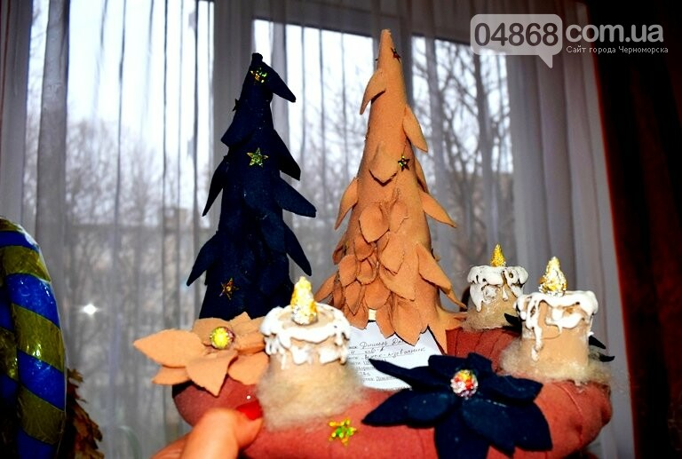 В Черноморске выбирали самые красивые сувениры и композиции, фото-6