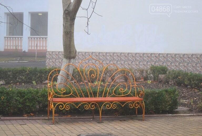 Черноморск в тумане, фото-8
