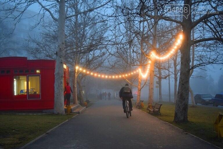 Черноморск в тумане, фото-2