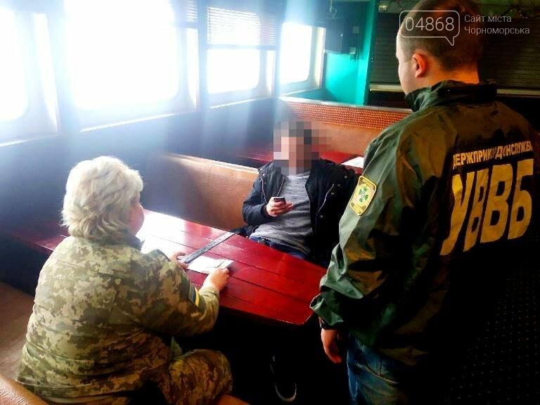 Отказ от взятки: в МТП «Черноморск» пограничники не дали вовлечь себя в противоправную деятельность , фото-2