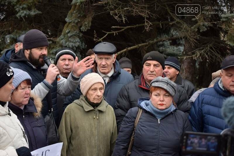 «Деньги реальные, тарифы надуманные»: жители Черноморска вышли на митинг против повышения цен на воду, фото-12