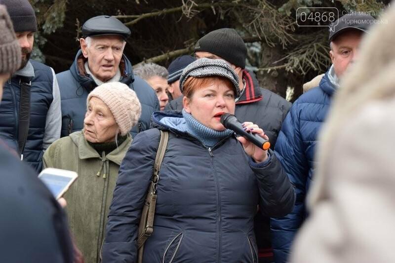 «Деньги реальные, тарифы надуманные»: жители Черноморска вышли на митинг против повышения цен на воду, фото-6