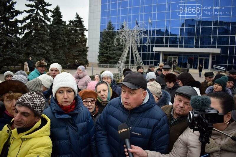 «Деньги реальные, тарифы надуманные»: жители Черноморска вышли на митинг против повышения цен на воду, фото-13
