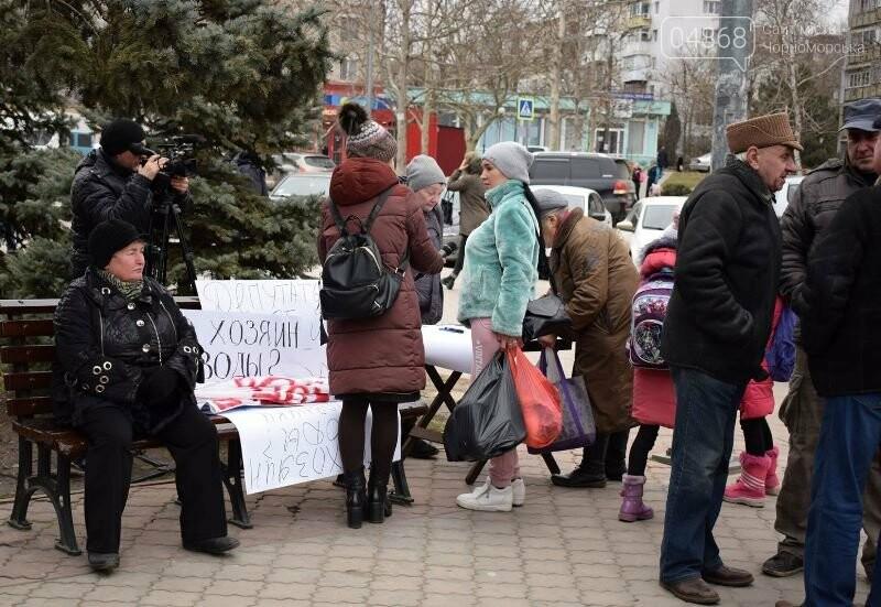 «Деньги реальные, тарифы надуманные»: жители Черноморска вышли на митинг против повышения цен на воду, фото-15