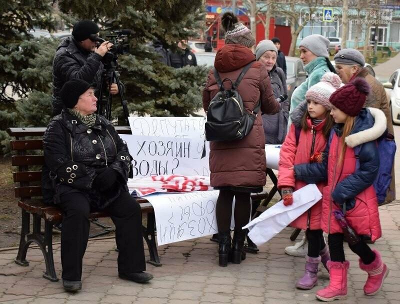 «Деньги реальные, тарифы надуманные»: жители Черноморска вышли на митинг против повышения цен на воду, фото-2