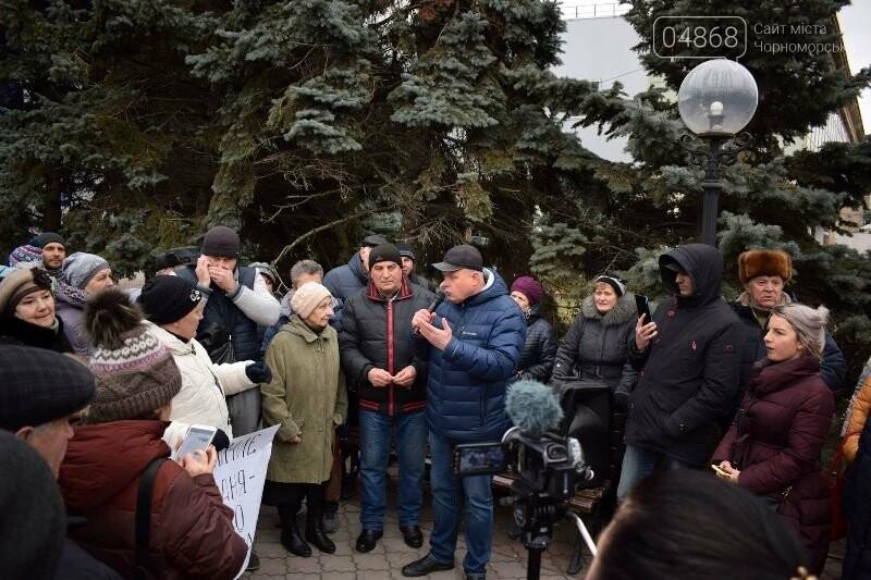 «Деньги реальные, тарифы надуманные»: жители Черноморска вышли на митинг против повышения цен на воду, фото-9