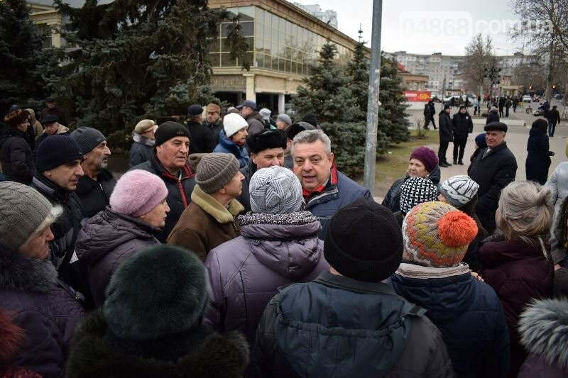 «Деньги реальные, тарифы надуманные»: жители Черноморска вышли на митинг против повышения цен на воду, фото-5