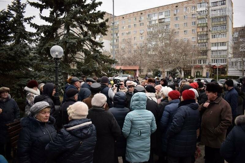 «Деньги реальные, тарифы надуманные»: жители Черноморска вышли на митинг против повышения цен на воду, фото-21
