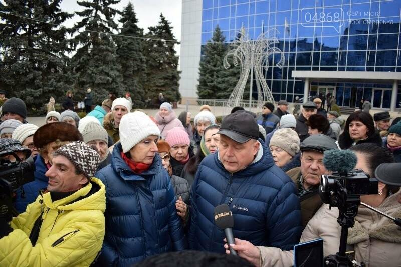 «Деньги реальные, тарифы надуманные»: жители Черноморска вышли на митинг против повышения цен на воду, фото-22