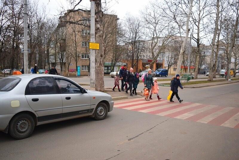 Насколько безопасны пешеходные переходы у школ Черноморска?, фото-13