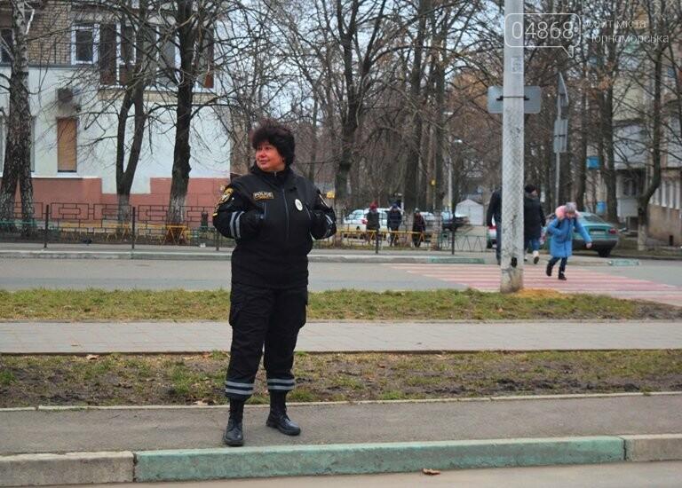 Насколько безопасны пешеходные переходы у школ Черноморска?, фото-6